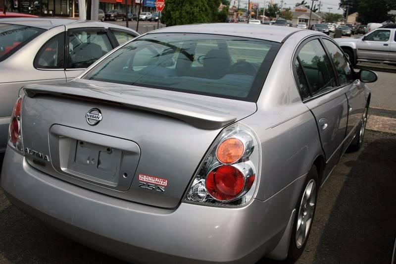 2003 Nissan Altima 2.5 S 4dr Sedan In Linden NJ - THE PICTURE FRAME ...