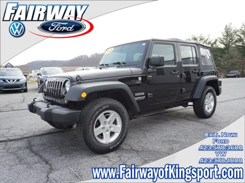 2015 Jeep Wrangler Unlimited for sale in Kingsport, TN