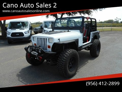 1990 Jeep Wrangler for sale in Harlingen, TX
