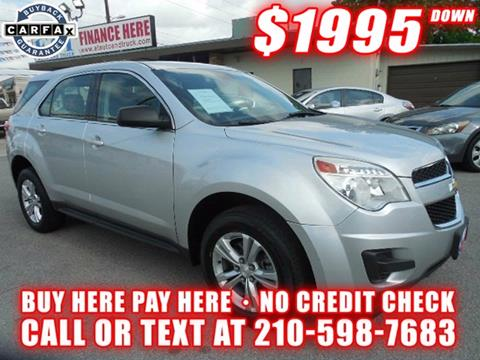 2013 Chevrolet Equinox for sale in San Antonio TX