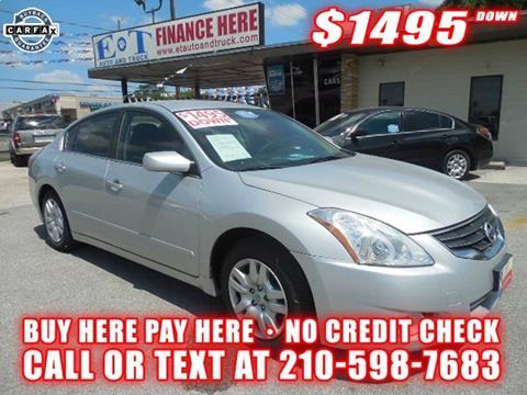 2012 Nissan Altima for sale in San Antonio, TX