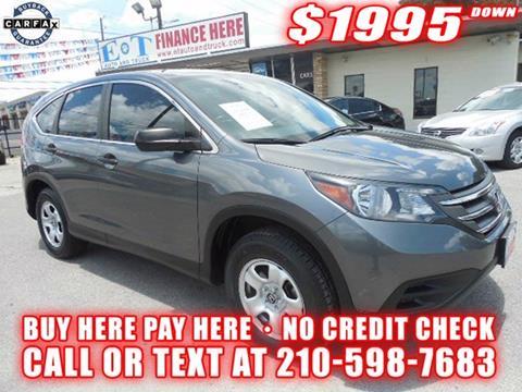 2013 Honda CR-V for sale in San Antonio TX