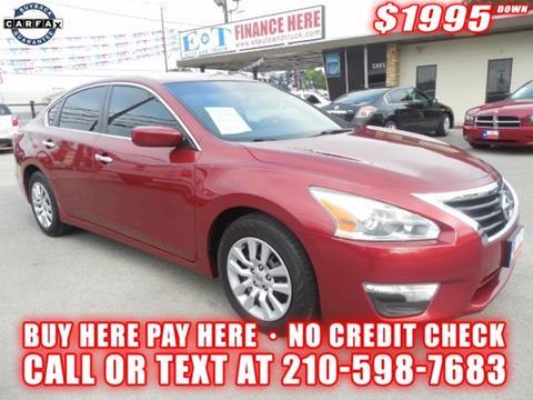 2013 Nissan Altima for sale in San Antonio TX