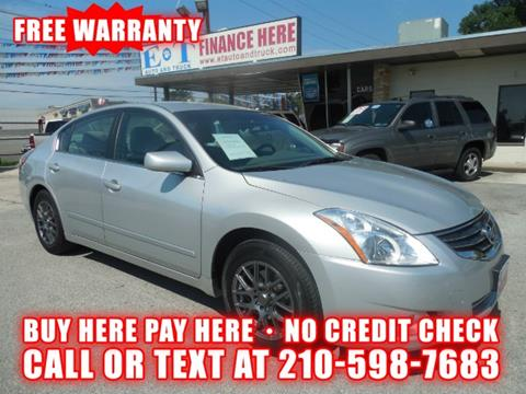 2012 Nissan Altima for sale in San Antonio TX