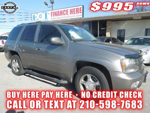 2008 Chevrolet TrailBlazer for sale in San Antonio TX