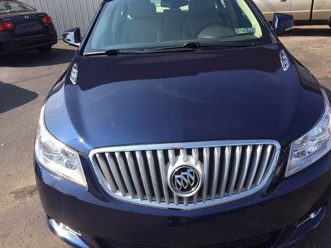 2010 Buick LaCrosse for sale in Uniontown, PA
