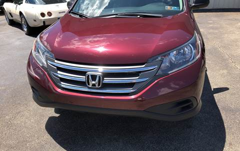 2012 Honda CR-V LX for sale at Berwyn S Detweiler Sales & Service in Uniontown PA
