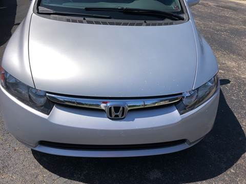 2006 Honda Civic LX for sale at Berwyn S Detweiler Sales & Service in Uniontown PA