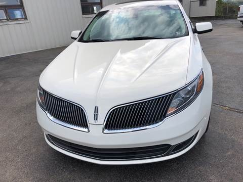2013 Lincoln MKS EcoBoost for sale at Berwyn S Detweiler Sales & Service in Uniontown PA