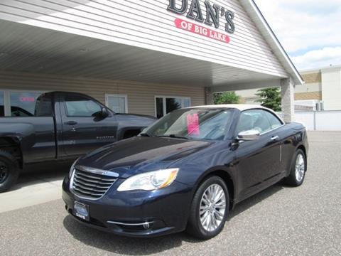 2012 Chrysler 200 Convertible for sale in Big Lake MN