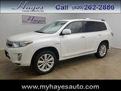 2011 Toyota Highlander Hybrid For Sale In Watertown, WI