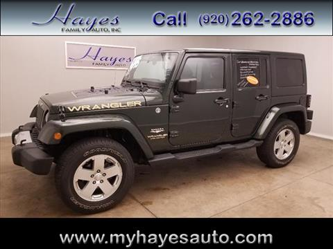 2011 Jeep Wrangler Unlimited for sale in Watertown, WI