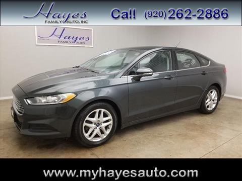 2015 Ford Fusion for sale in Watertown, WI
