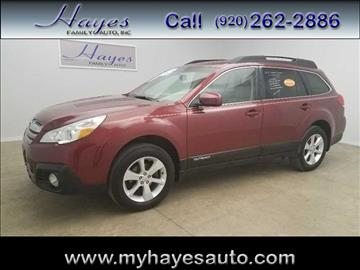 2013 Subaru Outback for sale in Watertown, WI
