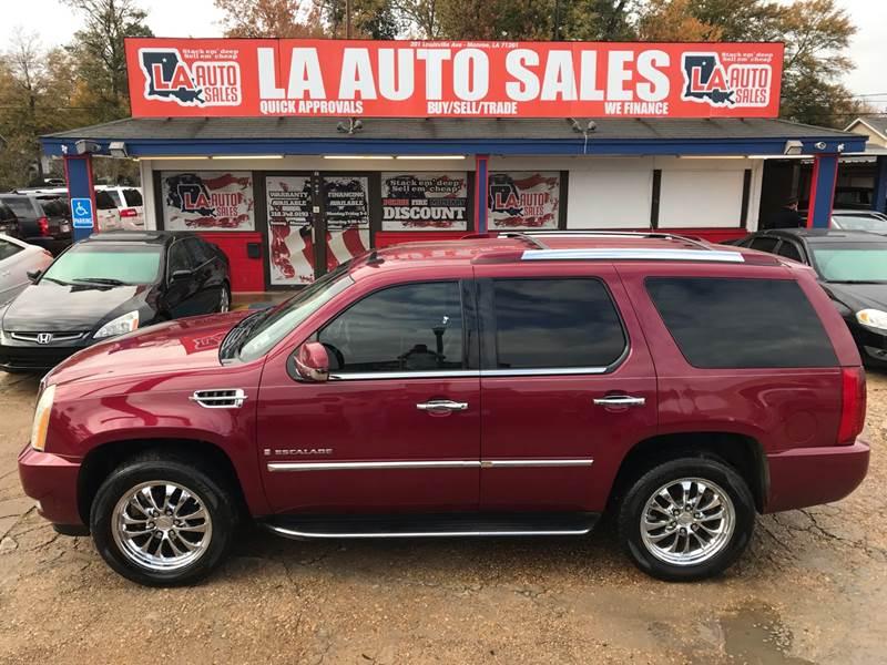2007 Cadillac Escalade AWD 4dr SUV In Monroe LA - LA Auto Sales