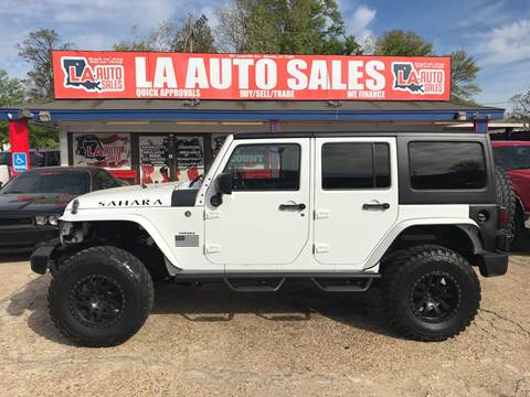 2013 Jeep Wrangler Unlimited for sale in Monroe, LA