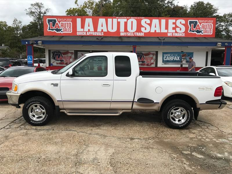 1998 Ford F 150 3dr Lariat 4wd Extended Cab Stepside Sb In