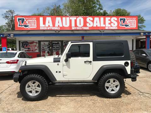 2008 Jeep Wrangler for sale in Monroe, LA