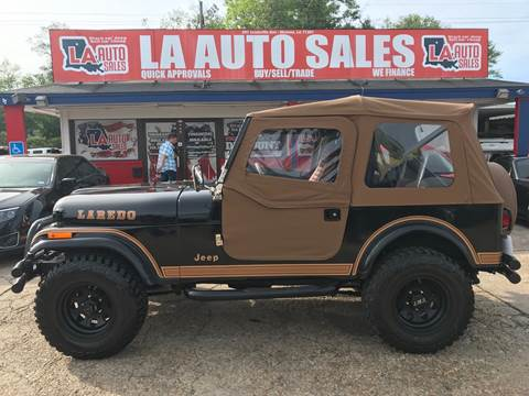 1984 Jeep CJ-7 for sale in Monroe, LA