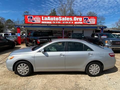 2007 Toyota Camry LE for sale at LA Auto Sales in Monroe LA