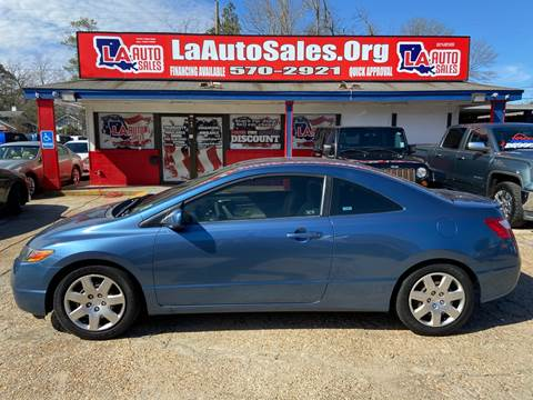2008 Honda Civic LX for sale at LA Auto Sales in Monroe LA