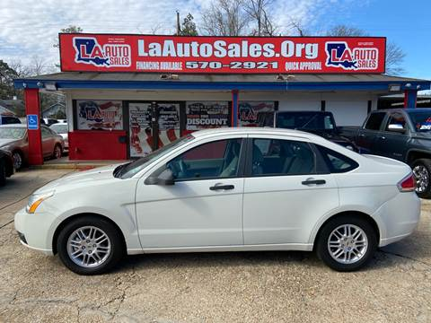 2010 Ford Focus SE for sale at LA Auto Sales in Monroe LA