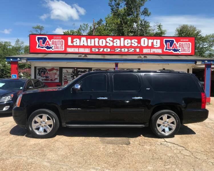 2012 Gmc Yukon Xl 4x2 Slt 1500 4dr Suv In Monroe La La Auto Sales