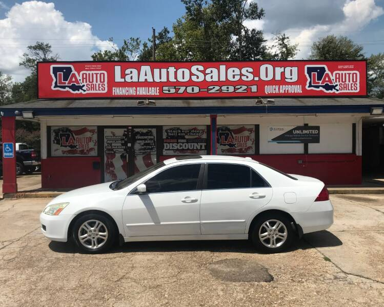 2007 Honda Accord EX-L 4dr Sedan (2.4L I4 5A) - Monroe LA