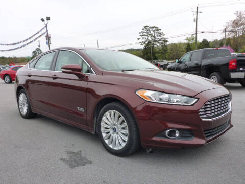 2016 Ford Fusion Energi for sale at Viles Automotive in Knoxville TN