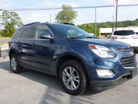 2017 Chevrolet Equinox for sale at Viles Automotive in Knoxville TN