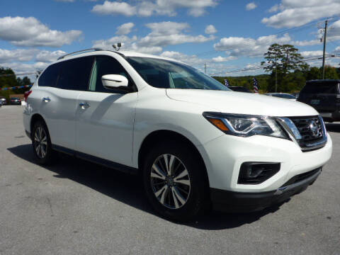 2018 Nissan Pathfinder for sale at Viles Automotive in Knoxville TN