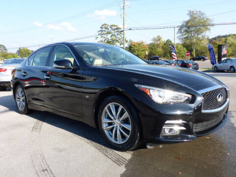 2014 Infiniti Q50 for sale at Viles Automotive in Knoxville TN