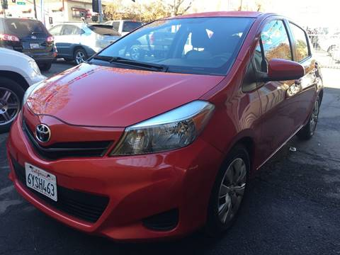2013 Toyota Yaris for sale at MK Auto Wholesale in San Jose CA