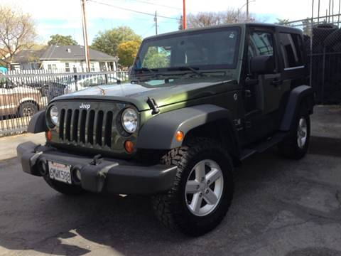 2007 Jeep Wrangler for sale at MK Auto Wholesale in San Jose CA
