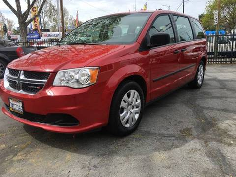 2015 Dodge Grand Caravan for sale at MK Auto Wholesale in San Jose CA