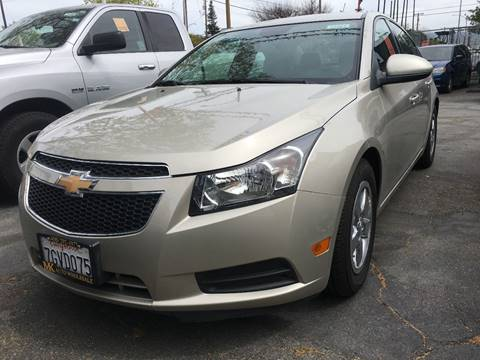 2014 Chevrolet Cruze for sale at MK Auto Wholesale in San Jose CA
