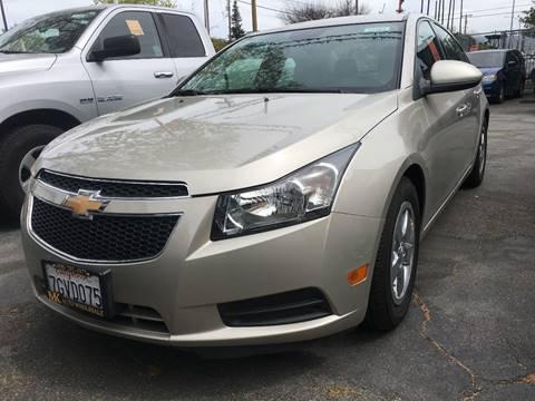 2014 Chevrolet Cruze for sale at MK Auto Wholesale in San Jose CA