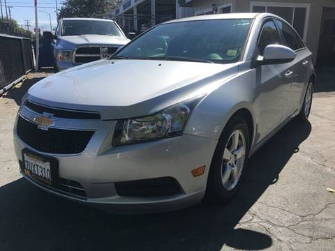 2013 Chevrolet Cruze for sale at MK Auto Wholesale in San Jose CA