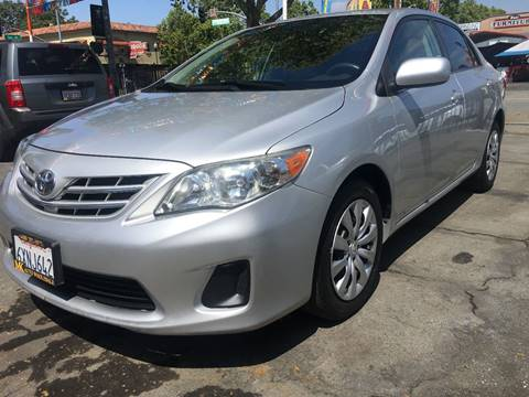 2013 Toyota Corolla for sale at MK Auto Wholesale in San Jose CA