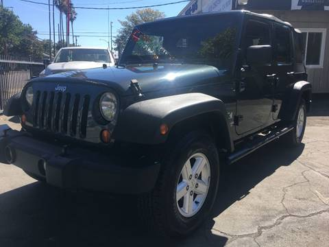 2007 Jeep Wrangler Unlimited for sale at MK Auto Wholesale in San Jose CA