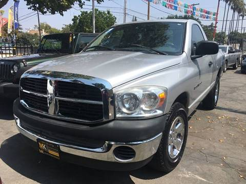 2007 Dodge Ram Pickup 1500 for sale at MK Auto Wholesale in San Jose CA