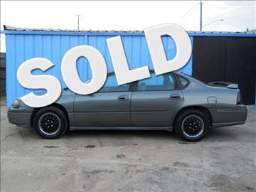 2004 Chevrolet Impala for sale in Houston, TX