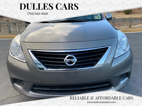 2012 Nissan Versa for sale in Sterling, VA