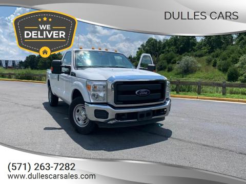 2016 Ford F-250 Super Duty for sale at Dulles Cars in Sterling VA