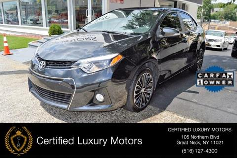 2016 Toyota Corolla for sale in Great Neck, NY