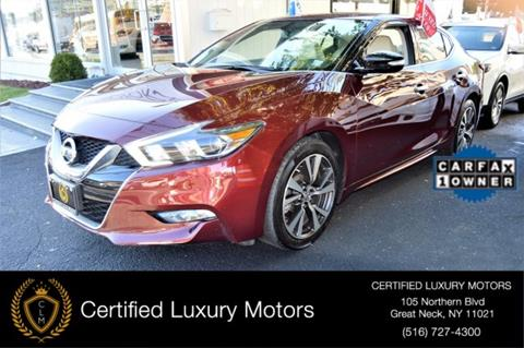 2016 Nissan Maxima for sale in Great Neck, NY