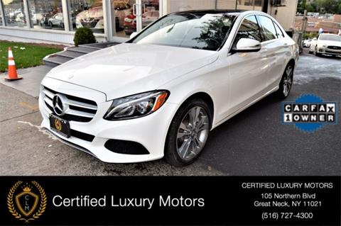 2015 Mercedes-Benz C-Class for sale in Great Neck, NY