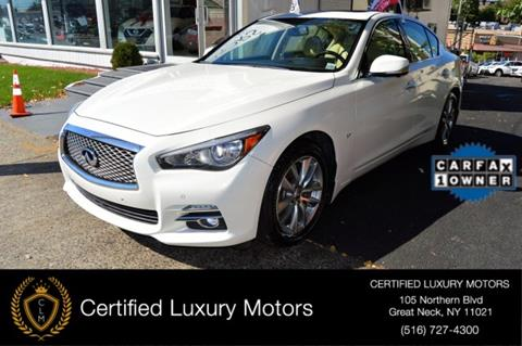 2014 Infiniti Q50 for sale in Great Neck, NY