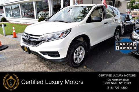 2015 Honda CR-V for sale in Great Neck, NY