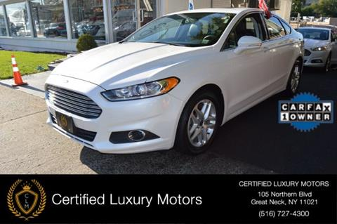 2014 Ford Fusion for sale in Great Neck, NY